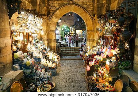 Khan El-khalili In Cairo, Egypt