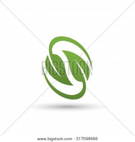 Green Leaf Logo, Two Green Leaf Vector Eps10, Leaf Icon Vector, Leaf Icon Eps, Leaf Icon Jpg, Leaf I