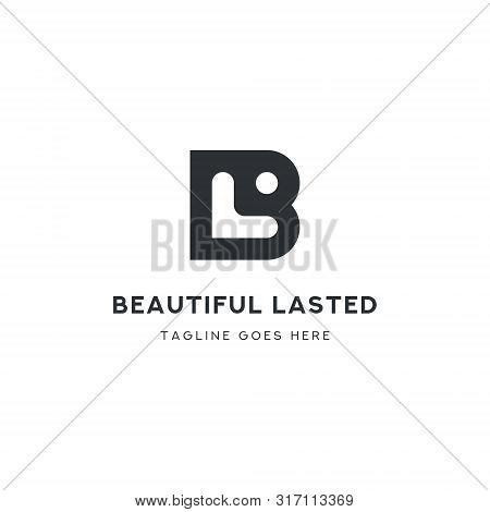 Logo Letter Bl, Concept Letter B + L + Icon Member, Simple Design.