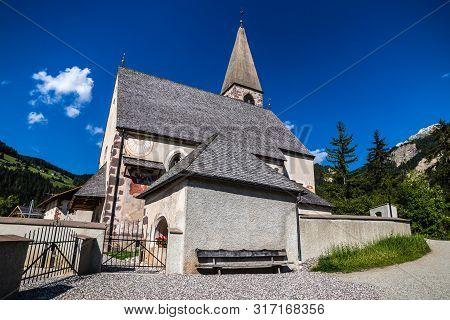 Santa Maddalena Church - Val Di Funes, South Tyrol, Italy