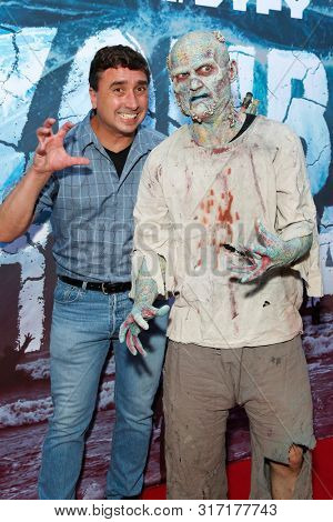 LOS ANGELES - AUG 12: Anthony C Ferrante, Water Zombie at the Premiere Of SyFy's