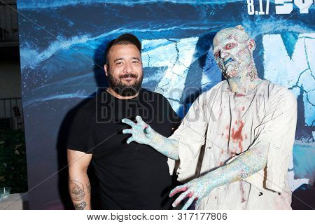 LOS ANGELES - AUG 12: Alejandro Marcos Rondon, Water Zombie at the Premiere Of SyFy's