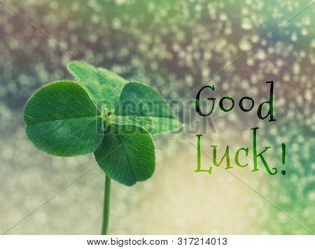 Good Luck - Inspirational Motivation Quote