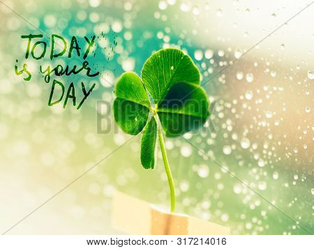 Today Is Your Day - Inspirational Motivation Quote
