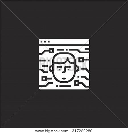 Identification Icon. Identification Icon Vector Flat Illustration For Graphic And Web Design Isolate