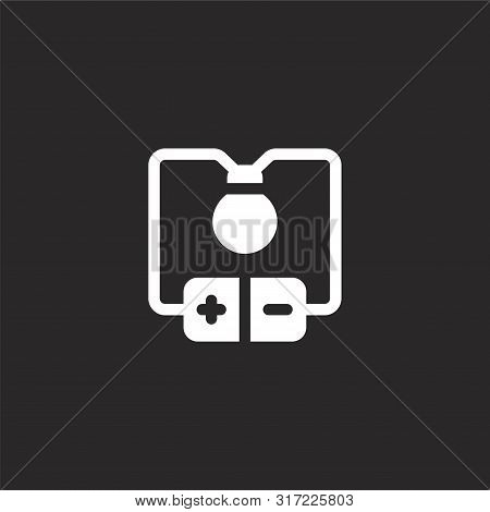 Electric Current Icon. Electric Current Icon Vector Flat Illustration For Graphic And Web Design Iso
