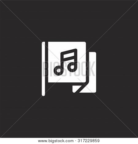 Access Icon. Access Icon Vector Flat Illustration For Graphic And Web Design Isolated On Black Backg