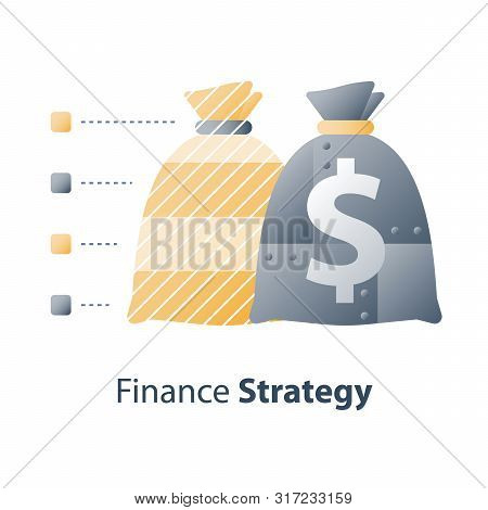 Strong Investment Portfolio, Secure Capital Allocation, High Financial Safety, Bank Savings Deposit,