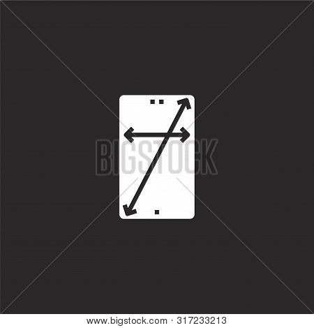 Infinity Icon. Infinity Icon Vector Flat Illustration For Graphic And Web Design Isolated On Black B