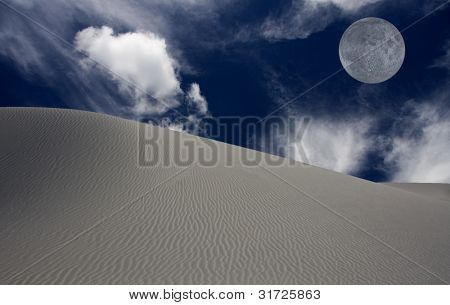 WHITE SANDS NEW MEXICO USA DESERT