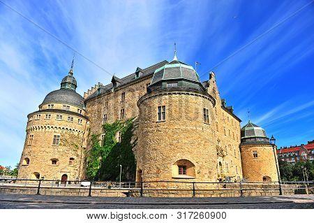 Scenic View Of Erebro Castle, Sweden
