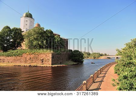 Old Castle By The River, Vyborg Town