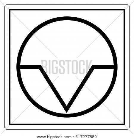 Pause Interruption Symbol Sign Isolate On White Background,vector Illustration Eps.10