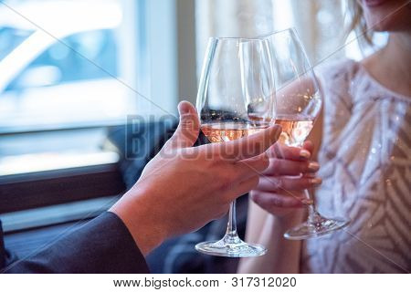Waiting For A Wedding Toast