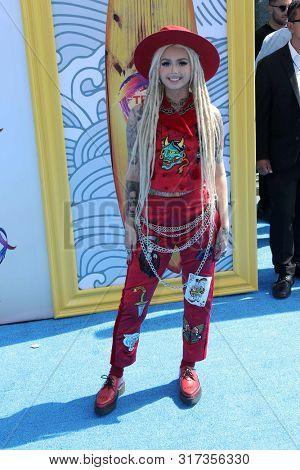LOS ANGELES - AUG 11:  Zhavia Ward at the Teen Choice Awards 2019 at Hermosa Beach on August 11, 2019 in Hermosa Beach, CA