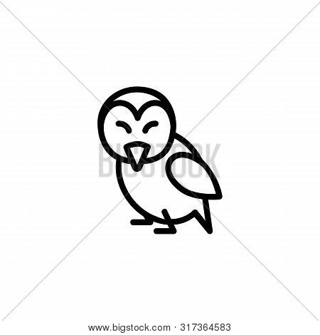 Bird Line Icon. Animal, Character, Nestling. Wildlife Concept. Can Be Used For Topics Like Fauna, Zo
