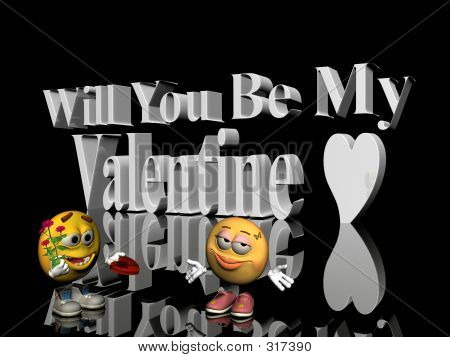 Will You Be My Valentine.
