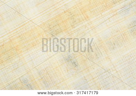 Authentic Egyptian Papyrus Paper, Diagonal Background And Texture 45. Closeup High Resolution.