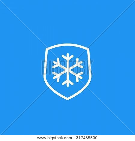 Frost Resistant, Resistance Icon, Eps 10 File, Easy To Edit