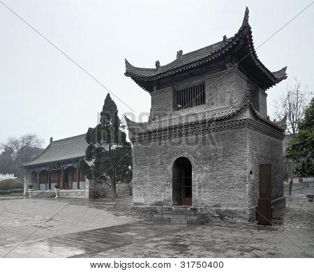 Stone Building In Xian