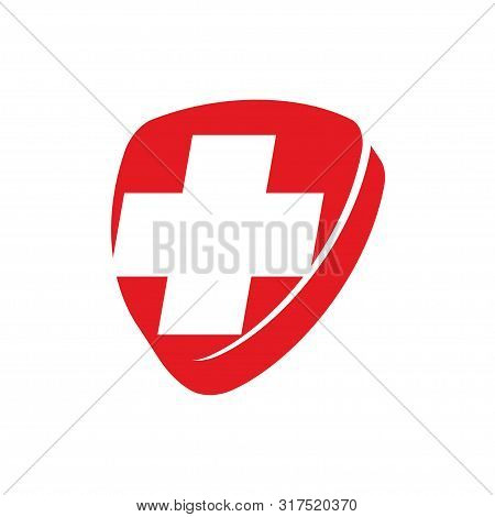Cross Health Care Medical Logo Icon Symbol Emblem
