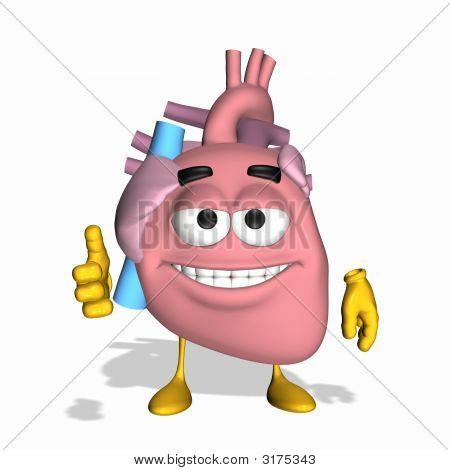 Smiley Aorta - Thumbs Up