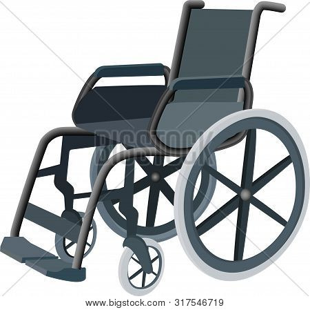 Wheelchair Design Concept, Wheelchair Rental. Can Be Used For Website And Mobile Site And Applicatio