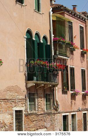 Flowerful Balcony
