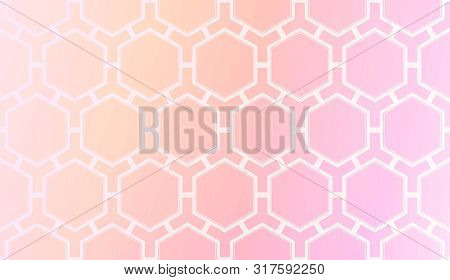 Pattern With Abstract Geometric Design. Vector Illustration. Design For Your Interior Wallpaper, Fas