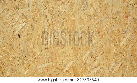 Pressed Wooden Panel (osb). Seamless Tileable Texture. Wood Texture.