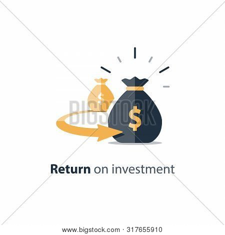 Return On Investment, Finance Consolidation, Budget Planning, Savings Account, Income Growth, Long T