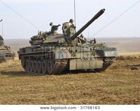Tank. Army