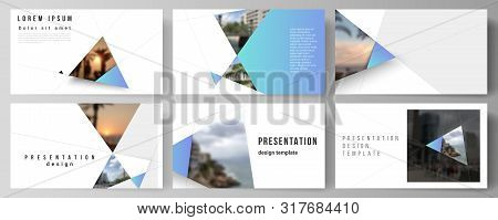 The Minimalistic Abstract Vector Layout Of The Presentation Slides Design Business Templates. Creati