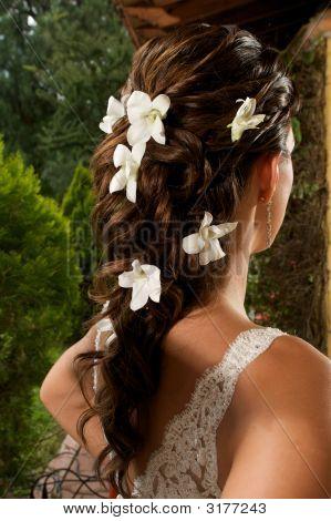 Fancy Bride Hairdress