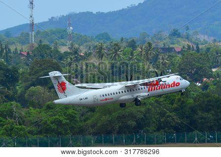 Civil Aircraft At Langkawi Airport, Malaysia