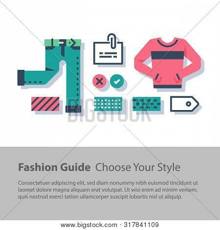 Fashion Guide, Complementary Clothing, Casual Wear, Wardrobe Set, Color Choice, Good Outfit Combinat