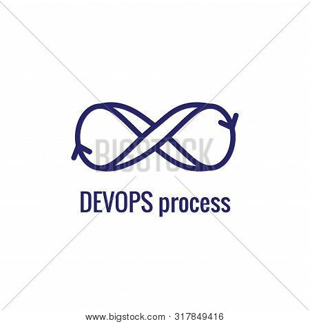 Devops Icon - Dev Ops Icon Showing An Part Of The Process