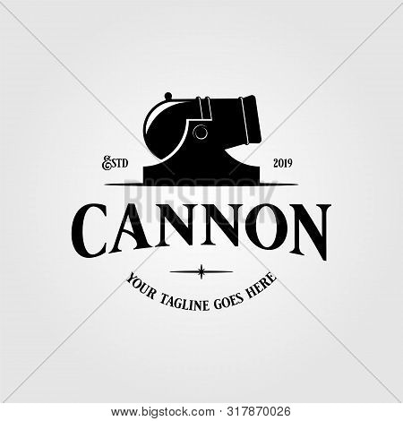 Cannon Icon Vector Isolated On White Background For Your Web And Mobile App Design, Cannon Logo Conc