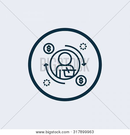 poster of investment icon isolated on white background from finance collection. investment icon trendy and modern investment symbol for logo, web, app,