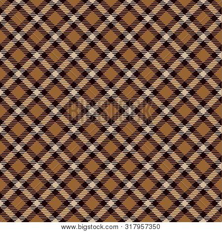 Tartan Plaid Scottish Seamless Pattern Background
