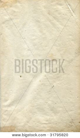 Authentic blank page from 1822 book
