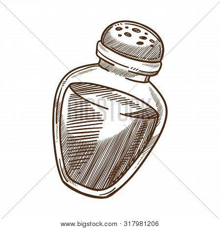 Cooking Ingredient, Salt Shaker, Spice Or Food Seasoning