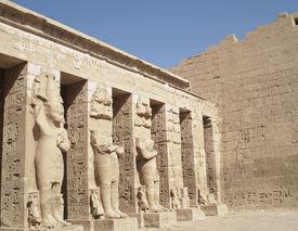 Statues of Medinet Habu