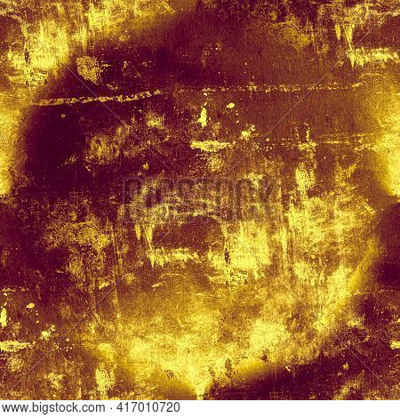 Grunge Vintage Dirty Texture. Old Dust Background. Aged Abstract Wallpaper. Distress Brush Pattern.