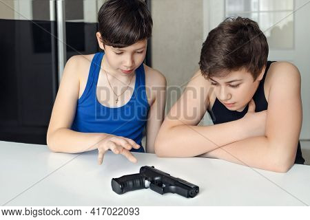 The Children Found Their Parents Weapons. Parents Do Not Store Weapons In A Safe Place, Children Can