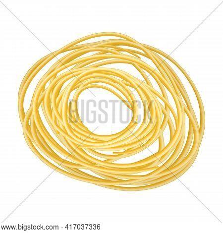 Pasta Of Italian Cartoon Vector Icon.cartoon Vector Illustration Pasta And Spaghetti, . Isolated Ill