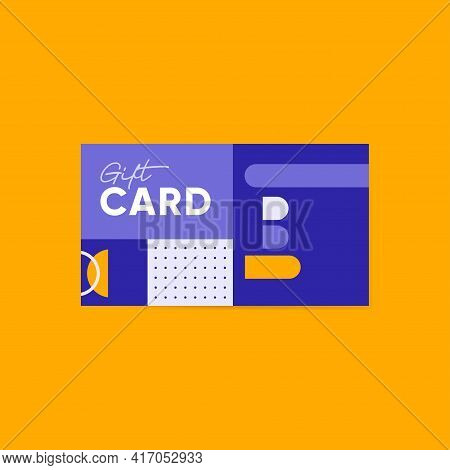 Lines And Bold Geometric Shapes, Useful For Gift Cards, Vouchers, Web Art, Invitation Cards, Posters
