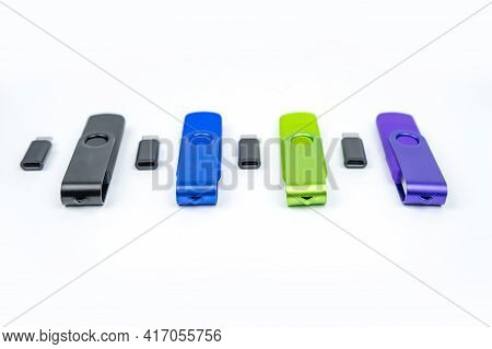 Usb 2.0 Micro Usb Flash Drive. Otg Memory Stick For Phone. Dual Flash Card