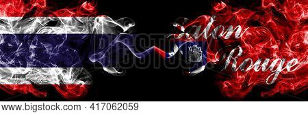 Thailand, Thai Vs United States Of America, America, Us, Usa, American, Baton Rouge, Louisiana Smoky