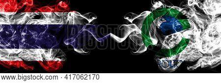 Thailand, Thai Vs United States Of America, America, Us, Usa, American, Carrollton, Texas Smoky Myst
